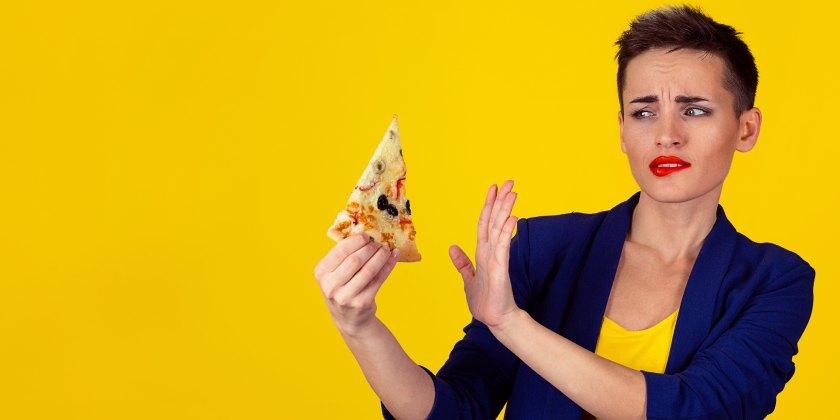 Ortorexia pizza