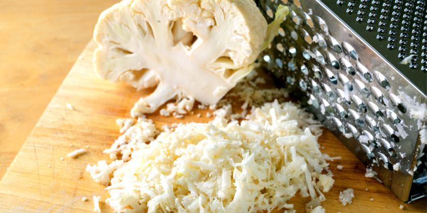 coliflor rallada o colirroz