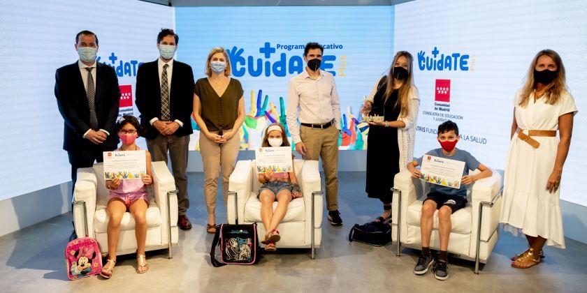 Alumnos del Colegio El Álamo.