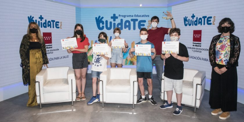 Alumnos Colegio Juan Pérez Villaamil.